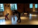Открытый урок по эстетической гимнастике. Нижний Новгород