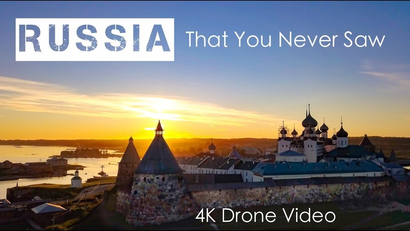 Russia - Like you have never seen before - Drone - 4K