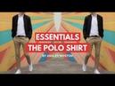 The Polo Shirt Men's Wardrobe Essentials Navy Black White Pique Silk Cotton