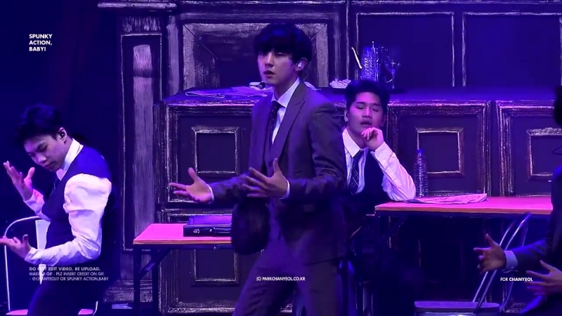 180428 The ElyXiOn in Manila - CALL ME BABY CHANYEOL focus 찬열 Full ver