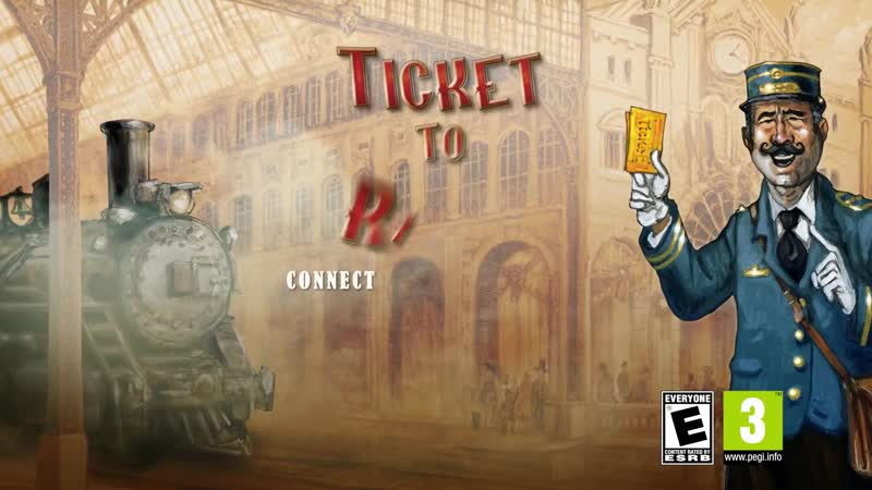 Ticket to Ride Gameplay Trailer PS4