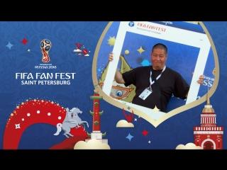 FIFA Fan Fest SPb: танцевальная пятница