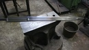 Forging a pattern welded multi fullered Witcher 3 sword part 1