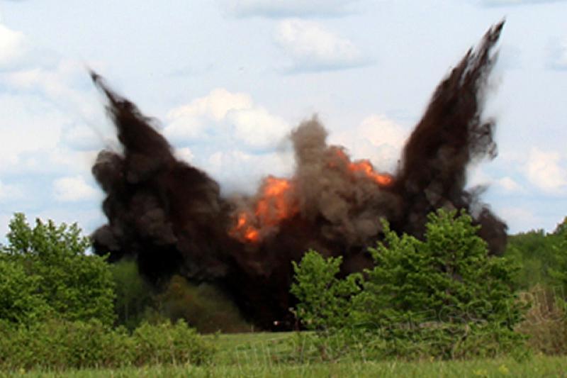 В 63 километрах от Таганрога найдены неразорвавшиеся украинские снаряды от «Смерча» и «Урагана»