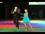 Slavik Kryklyvyy and Anna Melnikova Dance Cha Cha