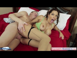 Brunette Beauty Francesca Le Takes His Hard Cock Deep Inside Her big tits boobs mom Brazzers wife anal ass sex naughty america b