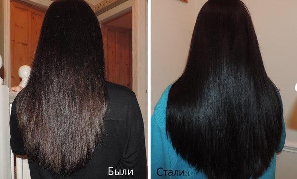 Маска для повреждённых волос народное средство