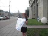 Активистка МММ Малькова Ирина против таких позорных выборов