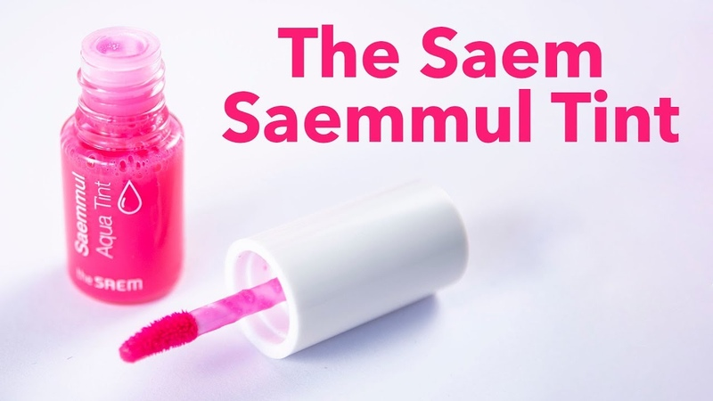 Обзор The Saem Saemmul Tint