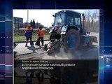 ГТРК ЛНР. Очевидец. В Луганске начали ямочный ремонт дорожного покрытия 12 апреля 2018