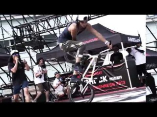 FLAT ARK BMX FLATLAND WORLD CIRCUIT in KOBE JAPAN 【PR MOVIE】