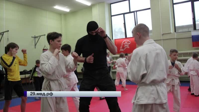 Мастер класс бойцов «Грома»