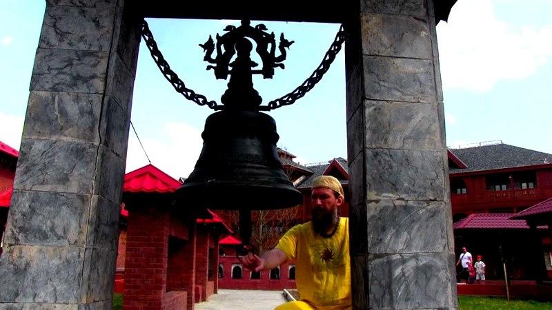 RAMHAGONG. Гонг-медитация в Непале Гордея Ориона. Колокол.