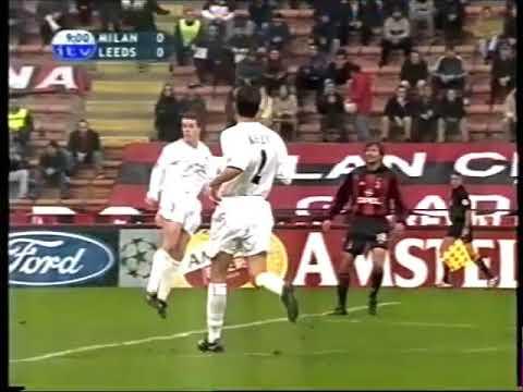 AC Milan V Leeds United (8th November 2000)