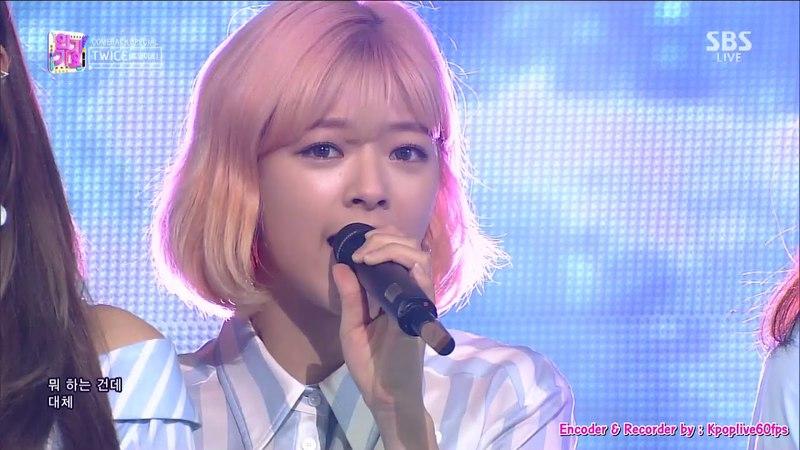 [TWICE (트와이스) SAY YES] KPOP TV Show | SBS Inkigayo 인기가요 E.953 180415 [60FPS]