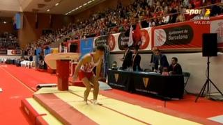 20181202ブルーメ記念 Artur Dalaloyan 跳馬