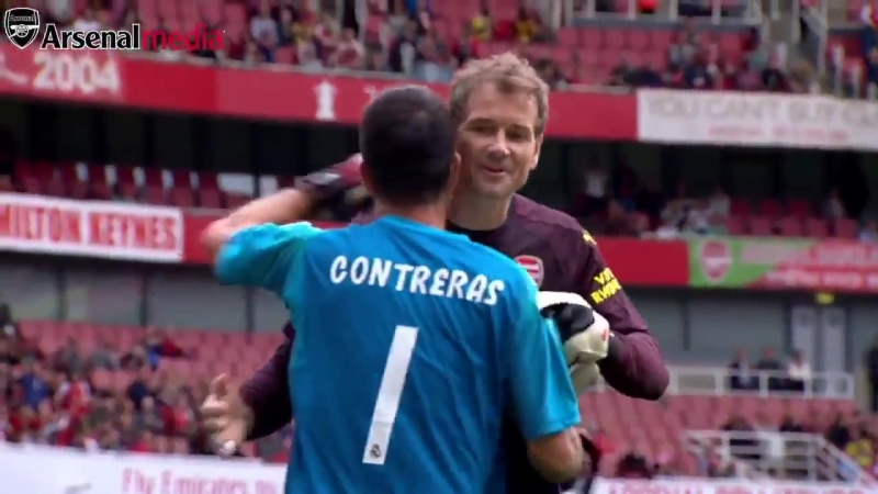 Arsenal Legends v Real Madrid The full penalty shootout