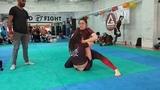 Турнир Fight and Roll Girs_4_05_2019_No Gi_Синие пояса_ 69_финал_Енькова VS Куприна