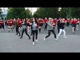 RUSSIAN ARMY PROJECT BTS FLASHMOB IN MOSCOW RUSSIA 2018
