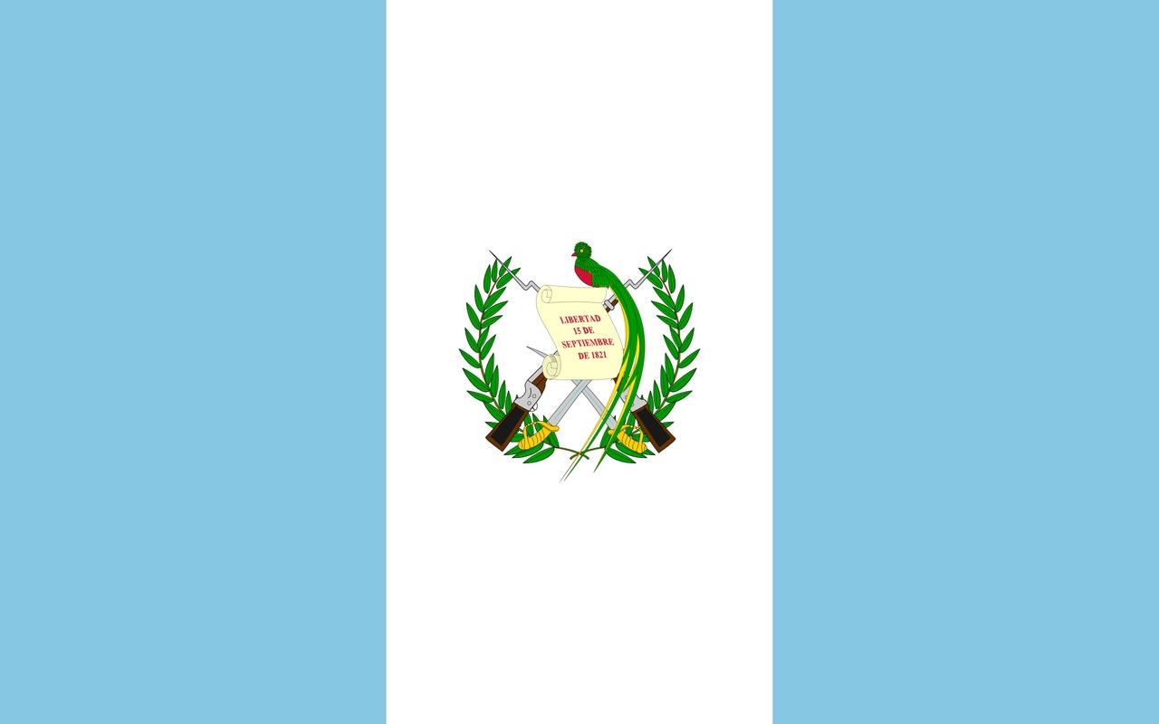 Флаг Гватемала