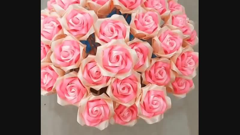 Как сделать розу из ленты. Несколько способов в копилочку рукодельницы