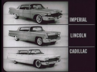 1960 Imperial vs Cadillac and Lincoln - Dealer Promo Film