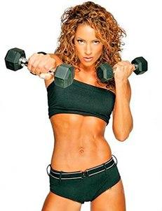 упражнения, гантели, тело, живот