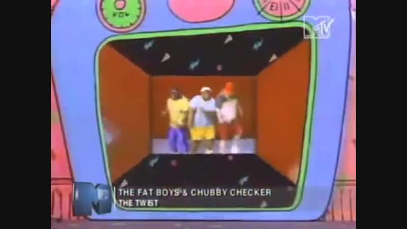 Fat boys chubby checker - the twist mtv