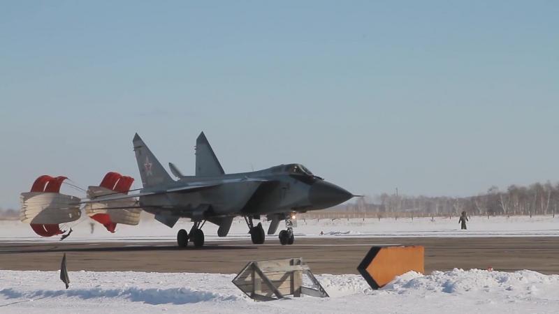 Полеты МиГ-31БМ 14-й армии ВВС и ПВО Центрального военного округа