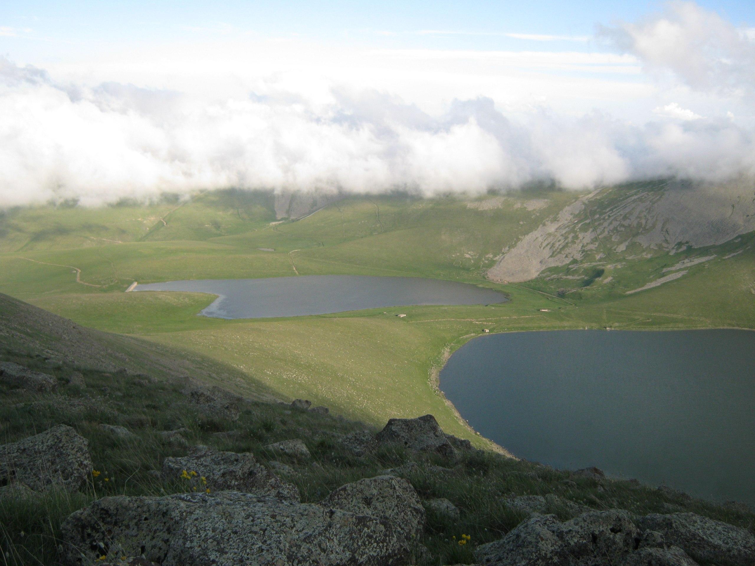 Посещение гор на границе Карабаха и Армении