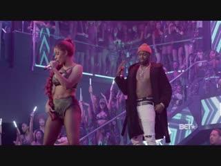 2018: Cardi B - Get Up 10 & Backin' It Up (Live @ BET Hip Hop Awards 2018)