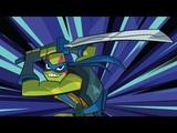 Rise of the teenage mutant ninja turtles LEONARDO TRAILER