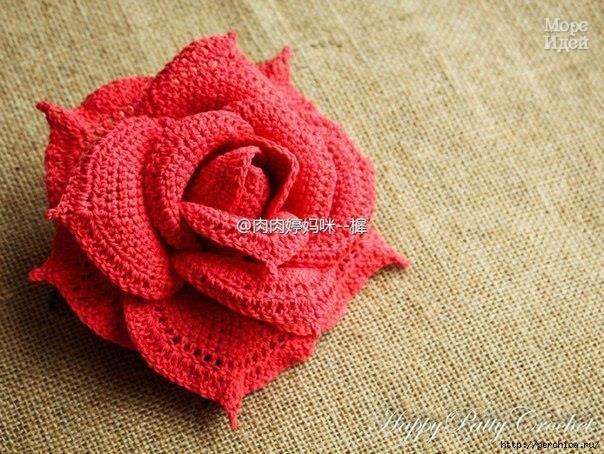 Объемная роза (10 фото) - картинка