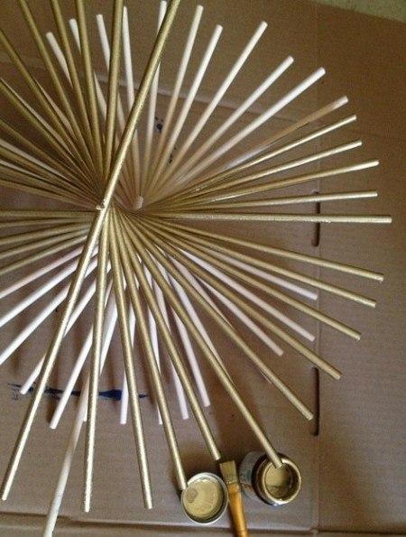 Веер из палочек для суши своими руками 12