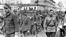 Проконвоирование военнопленных немцев через Москву 1944 March of German prisoners of war in Moscow