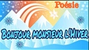 Poésie ❄️Bonjour monsieur l'hiver de Patrick Bousquet version 4 strophes ❄️