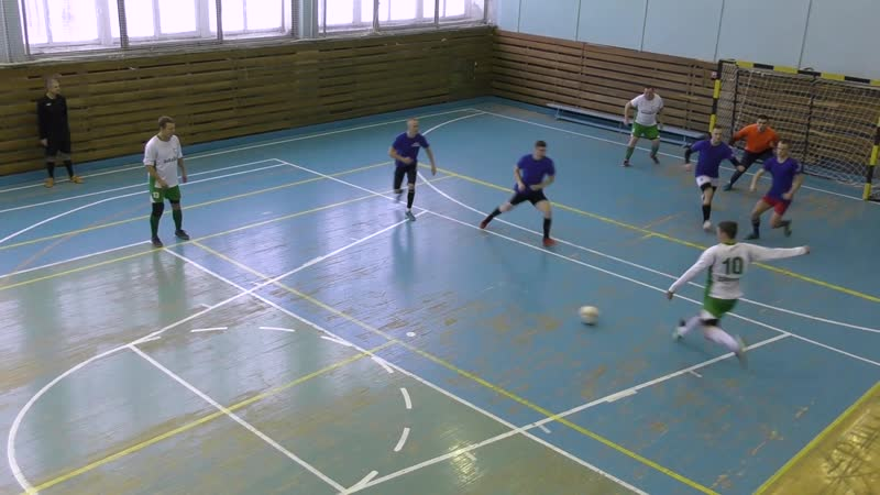 ВиКаДен - Фортуна (2 тайм) 08.12.18г. ПЖ по мини-футболу. Вторая группа.