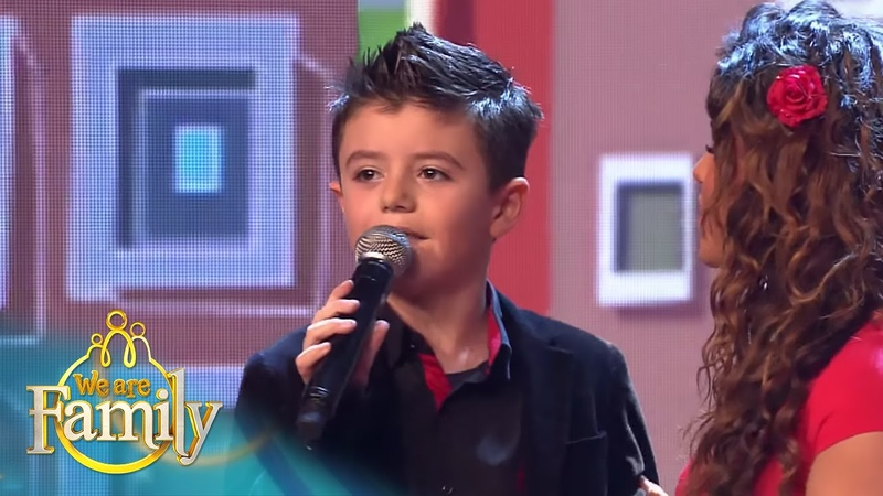7 jarige Giovanni zingt samen met John West We Are Family 2015 SBS6