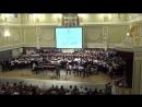 Сводный хор студентов и выпускников муз.-пед. училища. Концерт в Капелле.