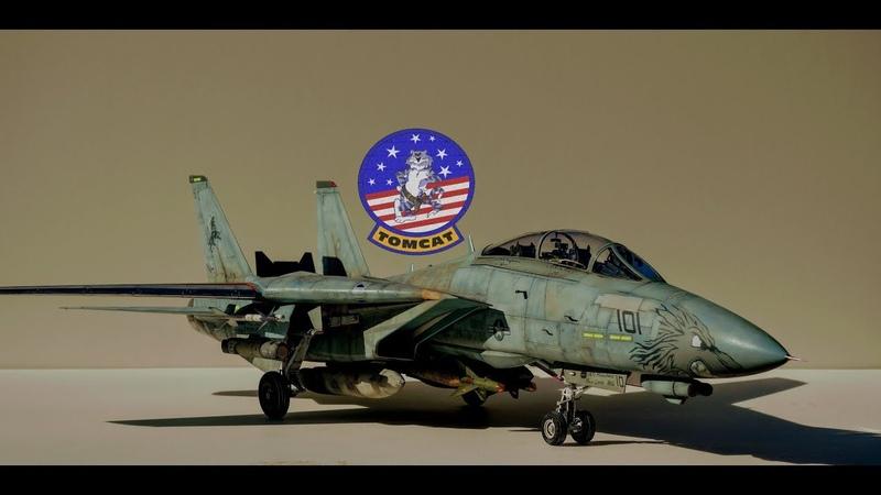 Trumpeter 1/32 F-14D Super Tomcat VF-213