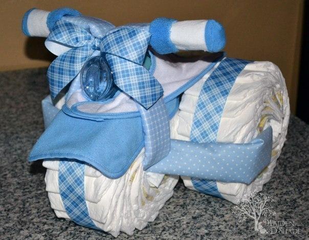 Как сделать подарок из памперсов