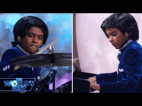 Lydian Surprises with an Epic Drum Solo - The World's Best Championships