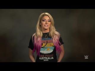 "#video@alexablissdaily | алекса блисс рекламирует линейку одежды ""fire fight australia"""