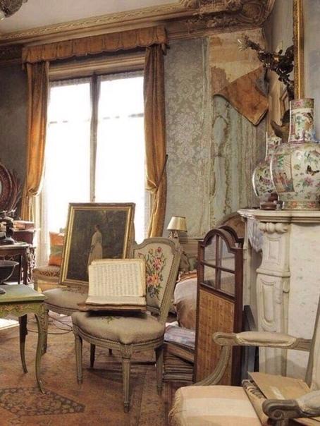Парижская квартира нетронутая более 70 лет.