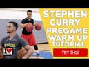 How To Stephen Curry Pregame Dribbling Warm Up Routine! FULL TUTORIAL