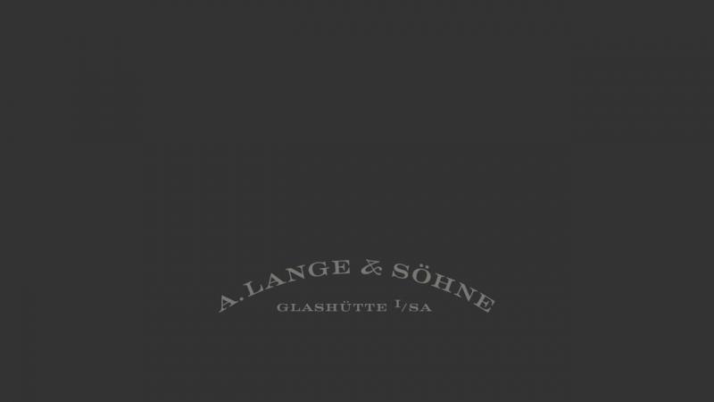 A Lange Söhne - Pure precision 1815 TOURBILLON.