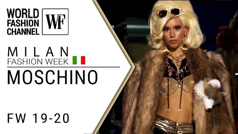 Moschino Fall-winter 19-20 Milan fashion week