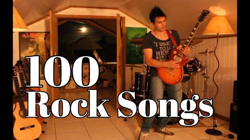 100 Músicas Famosas de Rock por Fabio Lima