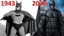 Эволюция Бэтмэна в кино и сериалах (1943-2018)