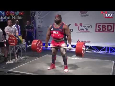 Ray Williams - 1083.5kg 1st Place 120kg - IPF World Classic Powerlifting Championships 2018